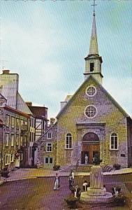 Canada Quebec La Cite Eglise 1688 Church Notre Dame Des Victoires