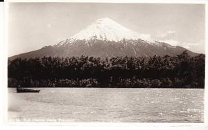 Chile - Osorno  Volcano Osorno desde Petrohue 1952 RP