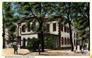 Columbia, South Carolina - The Governor's Mansion - c1920