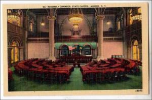 NY - Assembly Chamber, State Capitol, Albany
