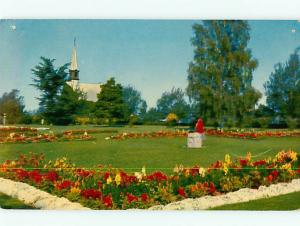 Vintage Post Card Grand Pre Memorial Park Montreal  Nova Scotia  Canada  # 3864