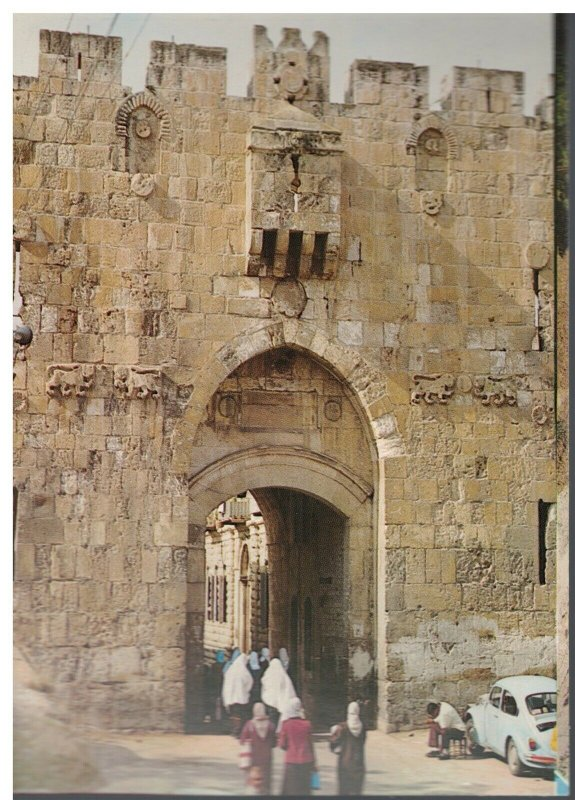 Postcard - Lion's Gate 560 - Jerusalem Israel