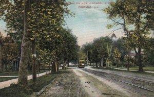 NORMAL , Illinois, 1913 , North School Street