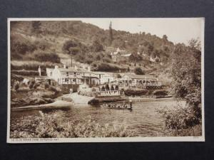 Herefordshire: at YE OLDE FERRIE INNE shows Ferry in Use - Old Postcard