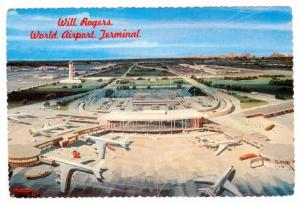 Aerial View, Air Planes, Will Rogers World Airport Terminal, Oklahoma City, O...