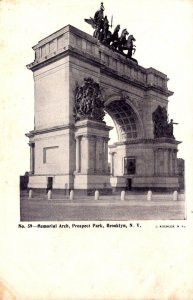 New York City Brooklyn Prospect Park Memorial Arch