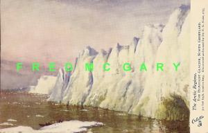 1910 Greenland PC: Humboldt Glacier, Signed Albert Operti Art