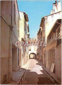 Postcard Modern Light and Beauty of the French Riviera Ollioules Rue Marcelin...