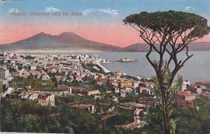 Panorama Dalla Via Tasso, Napoli (Campania), Italy, 1900-1910s