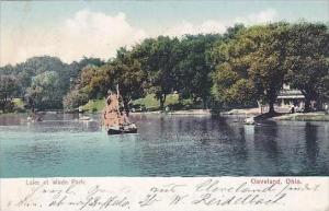Ohio Leveland Lake At Wade Park 1907