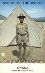Ghana Boy Scouts of America, Scouting Postcard, Post Cards, Copyright 1968  G...