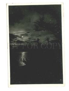 250318 USSR Sochi night view of sea photo Sysoev 1934 year PC