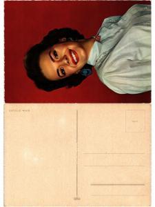 CPA Natalie Wood ARTISTE FILM STAR (425462)