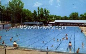 Suttle's Swimming Pool Charlotte NC 1962