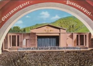 Germany Oberammergau Buehne und Chor des Passionsspiel