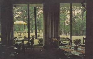 Dining Room, Terrace, Lodge at Rough River State Park, Kentucky, PU-1965