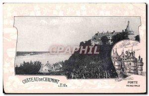 Old Postcard Chaumont sur Loire The castle