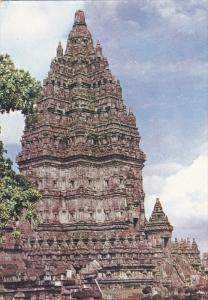 JAVA, Indonesia, 1950-1970's; Prambanan, Hindu Temple