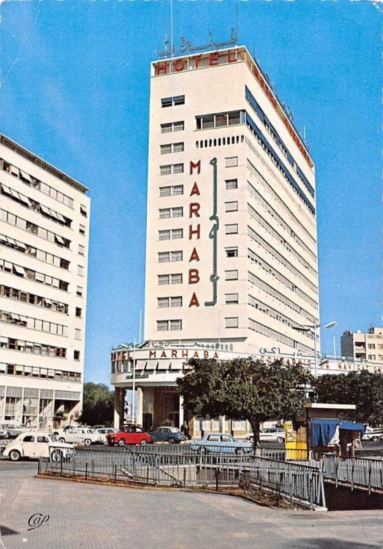 Maroc Casablanca Hotel Marhaba, Duhon, architecte