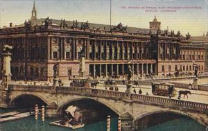 Germany Berlin Board Of Trade and Friederichs Bridge