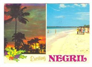 Negril , Jamaica, PU-1987