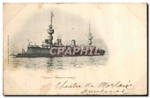 Old Postcard Boat War Chanzy protected cruiser