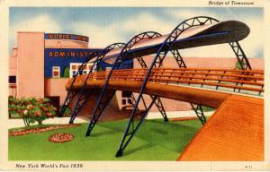 NY - 1939 New York World's Fair. Bridge of Tomorrow
