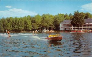 Deposit New York~Oquaga Lake~Scott's Casino & Bathing Area~Water Skiing~1958 Pc