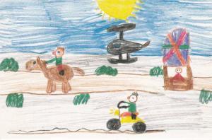 Artwork From Indians Kids (Ellie Haevens - Age 8), Expo 86, Northwest Territo...