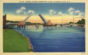Pasquotank River in Elizabeth City, North Carolina