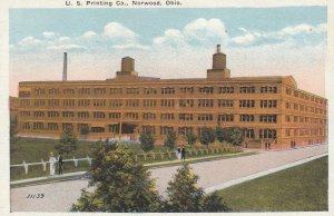 NORWOOD , Ohio , 1910s ; U.S. Printing Company