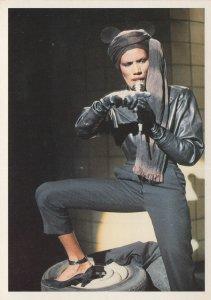 Grace Jones Rare Amsterdam Pictures Postcard