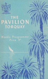 Variety Show 1951 from Pavillion Theatre Torquay Devon Programme