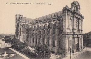 CHALONS SUR MARNE, Marne, France, 1900-1910's; La Cathedrale