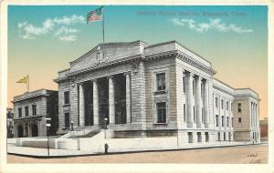Memphis Tennessee~Central Police Station~Abandoned Building Now~1916 Postcard