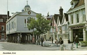 kent, FAVERSHAM, Street Scene, Baldwin and Partners (1970s)
