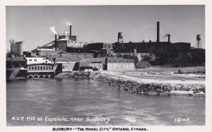 RP: SUDBURY , Ontario , Canada , 30-40s ; KVP Mill at Espanola