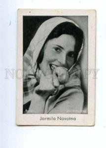 145306 Jarmila NOVOTNA Czech OPERA soprano Old CIGARETTE card