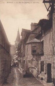 La Rue Des Matelas, Rouen (Seine Maritime), France, 1900-1910s