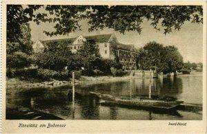 CPA AK Konstanz Inselhotel GERMANY (893439)