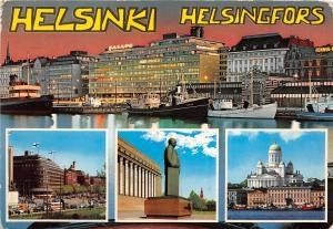 B67283  Finland Helsinki boats bateaux multiviews