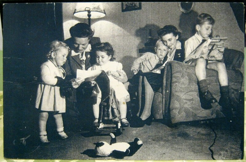 Postcard Social History 1950's - unposted