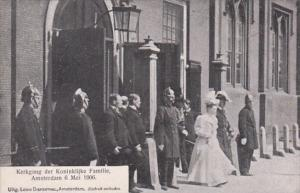 Netherlands Amsterdam The Royal Family 6 May 1906
