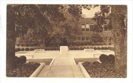 Birney Memorial, High School grounds, Marietta, Georgia, PU-1957