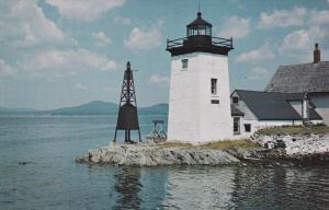 LIGHTHOUSE near Ferry Landing , ISLESBORO , Maine , 50-60s