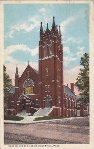 Massachusetts Haverhill Saced Heart Church 1919