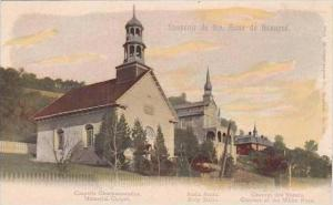 Canada Quebec Ste Anne de Beaupre Memorial Chapel &  Convent of the White ...