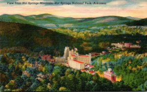 Arkansas Hot Springs View From Hot Springs Mountain