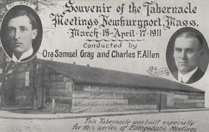 NEWBURYPORT , Massachusetts , 1911 ; Tabernacle Meeting Tent