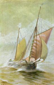 Ship Yawltuig 1894 Nautica 01.54